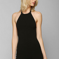 Sparkle & Fade Knit Halter Romper - Urban Outfitters