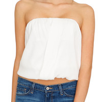 New Issue Tube Top White