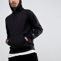 Carhartt WIP Chase Hoodie In Black at asos.com