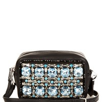 Crystal-embellished leather cross-body bag | Rochas | MATCHESFASHION.COM US