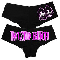 Twiztid Bitch Booty Shorts