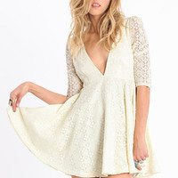 Polly Lace Dress By Jarlo - $99.00 : ThreadSence, Women's Indie & Bohemian Clothing, Dresses, & Accessories