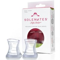 Solemates High Heelers in Wide Clear