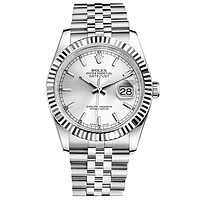 Rolex Hot Sale Classic Cool Business Movement Watches Wrist Watch Silvery