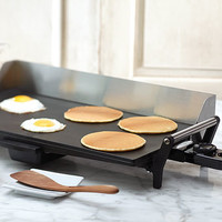 Professional Griddle with Backsplash | Grills & Griddles | Stonewall Kitchen - Specialty Foods, Gifts, Gift Baskets, Kitchenware and Kitchen Accessories, Tableware, Home and Garden Décor and Accessories