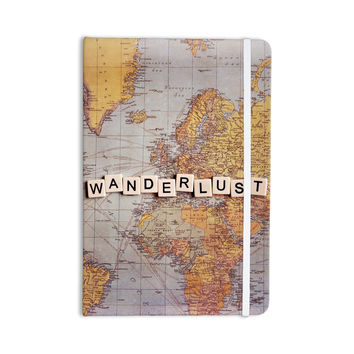 "Sylvia Cook ""Wanderlust Map"" World Everything Notebook"