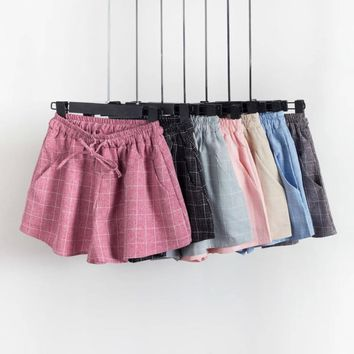 """Plaid About You"" Shorts"