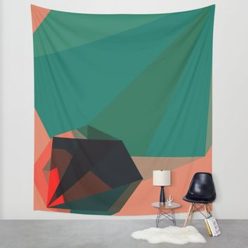 Shape Play 1 Wall Tapestry by Ducky B