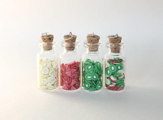 skull potion listing bottle glass pendant poison il necklace