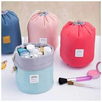 Carry-All Travel Cosmetic & Jewelry Pouch in 4 Color Choice