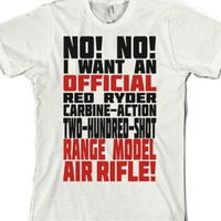 Official Red Ryder Carbine Action Two Hundred Shot Range Model Air ...