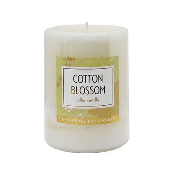 Chesapeake Bay Candle 3'' x 4'' Cotton Blossom Pillar Candle