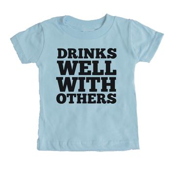 Drinks Well With Others  Baby Tee