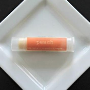 Peach Vegan Lip Balm