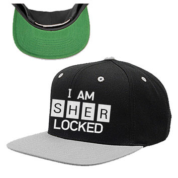 I AM SHER - LOCKED snapback