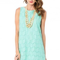 Maureen Tank Shift in Mint - ShopSosie.com