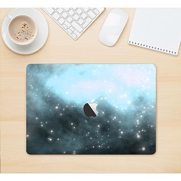 "The Bright Blue Vivid Galaxy Skin Kit for the 12"" Apple MacBook"