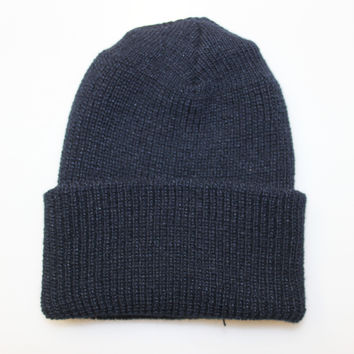 WATCH CAP BEANIE - NAVY (USA MADE)