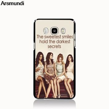 Arsmundi Pretty Little Liars Phone Cases for iPhone 4S 5C 5S 6S 7 8 Plus  XR XS Max for X S6 8 9 6 Case Soft TPU Rubber Silicone