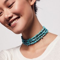 Free People Beach Cruiser Stone Choker