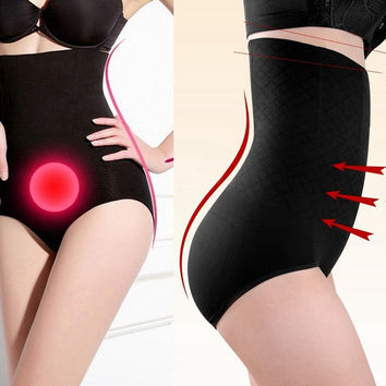 2014 rushed sale freeshipping control panties women's high waist tummy body shaper briefs slimming pants knickers trimmer tuck