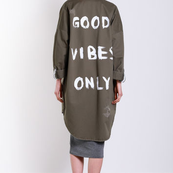 Good Vibes Only Jacket
