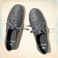 Hollister + Keds Champion Glitter Sneakers