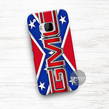 Rebel Flag GMC Logo HTC One Case Cover Series