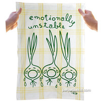 EMOTIONALLY UNSTABLE DISH TOWEL