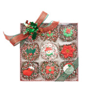Christmas Chocolate Covered Oreos® - 9 Piece   Dylan's Candy Bar