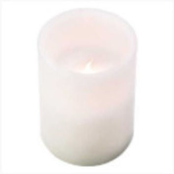 White Pillar Flameless Candle