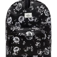 Obey Outsider Backpack in Black