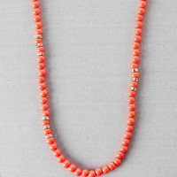 CORAL GABLES BEADED NECKLACE