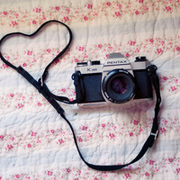 Vintage Camera  Photograph  Pentax Camera Love 8x10 by birdandbloke