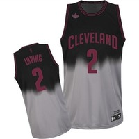 adidas Cleveland Cavaliers Kyrie Irving Fadeaway Fashion Swingman Jersey