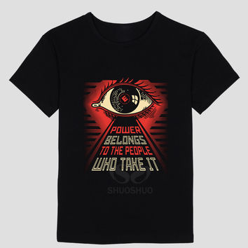 To The People Mr. Robot themed T shirt