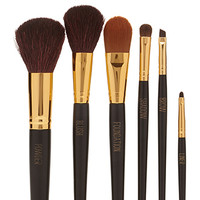 FOREVER 21 Professional Makeup Brush Set Black/Gold One