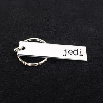 Jedi Keychain - Star Wars - Aluminum Key Chain