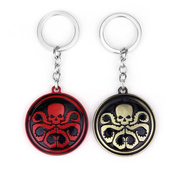 Marvel Hydra Logo Metal Key Chain