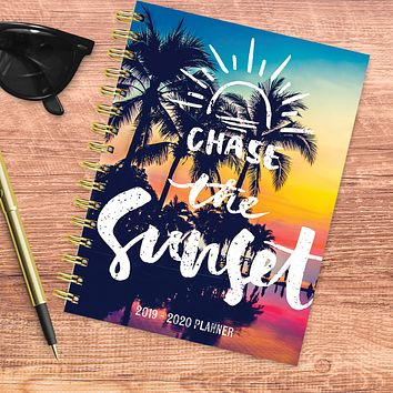 Tropical Sunset Medium Academic Weekly/Monthly Planner