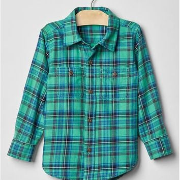Gap Plaid Flannel Shirt