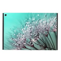Dandelions, Water Droplets and Turquoise Case For iPad Air