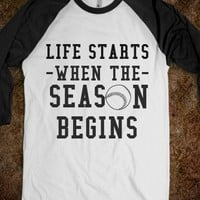 life starts when the season begins - The Sunshinee Shop