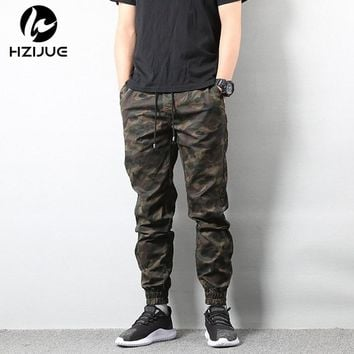 Casual Autumn Pencil Pants Street style Hip Hop Men Jogger Trousers