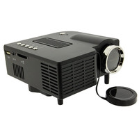 Mini Portable HD LED Projector Home Cinema Theater PC Laptop VGA USB SD AV HDM