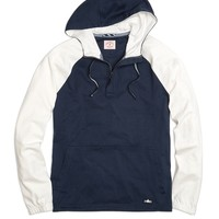 Color-Block Sleeve Hooded Pullover - Brooks Brothers