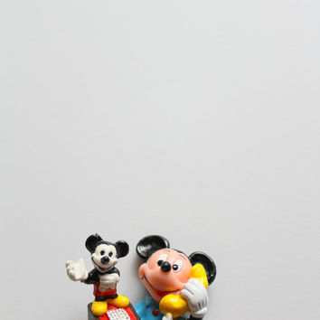 Vintage Applause Mickey Mouse PVC Toy 1980s