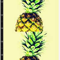 Art print fabric 50x39 inch Aproximately 127x100cm each Pineapple art print fabric Art craft project material