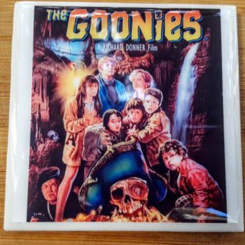 Single Tile Drink Coaster The Goonies 80s Movie Poster Drink Coaster