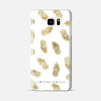 Gold Pineapple Android Galaxy Note 5 case by Crystal Walen | Casetify